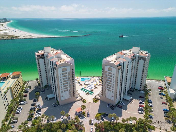 Id 704s 440 West Condominiums Clearwater Beach Florida Vacation Condo Rental
